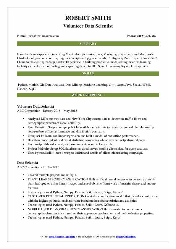 data scientist resume samples qwikresume summary example pdf acting template rn cover Resume Data Scientist Resume Summary Example