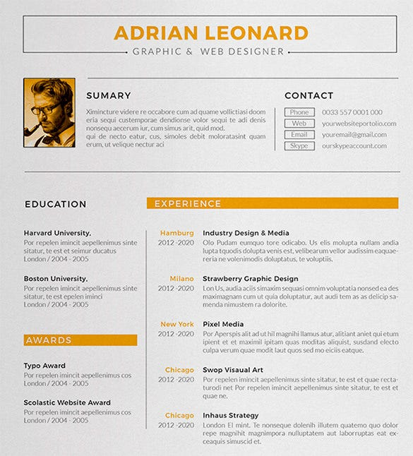 designer resume templates pdf free premium visualizer sample template professional help Resume Visualizer Resume Sample