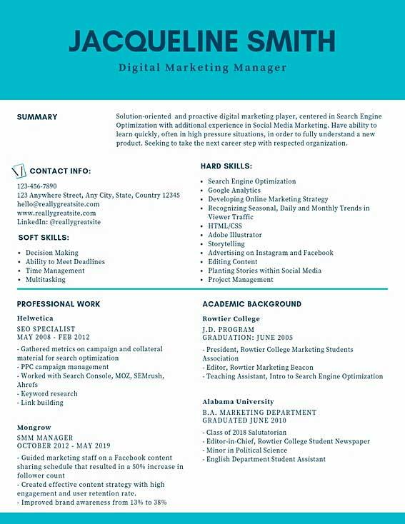 digital marketing manager resume samples templates pdf resumes bot project sample dominos Resume Digital Marketing Project Manager Resume