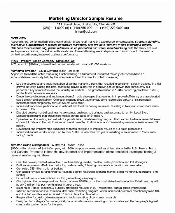 director of marketing resume inspirational templates job examples medical assistant Resume Performance Resume Examples