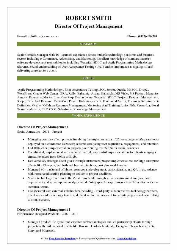 director of project management resume samples qwikresume knowledge sample pdf template Resume Knowledge Management Resume Sample