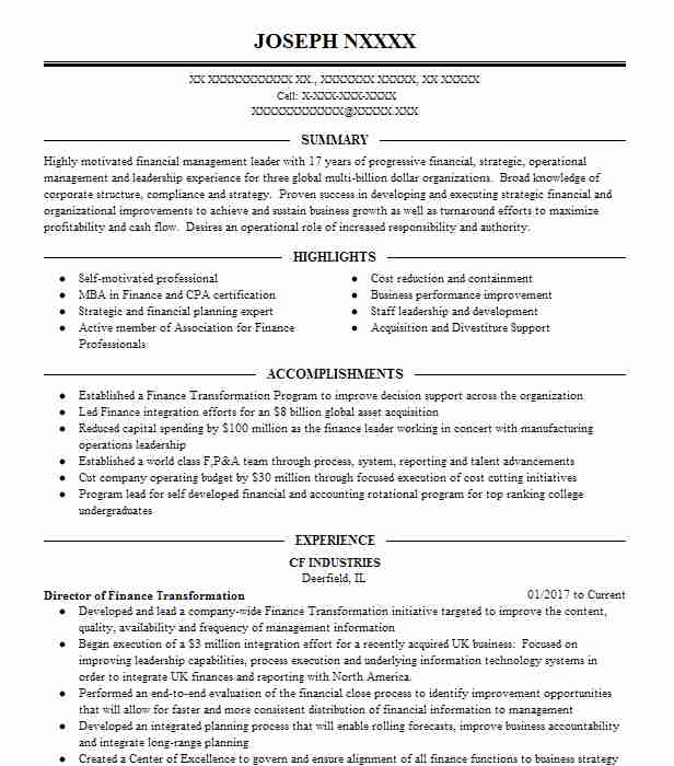 director of transformation resume example technologies flower mound business sample Resume Business Transformation Resume Sample