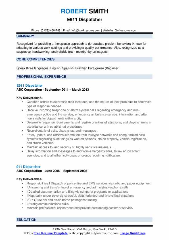 dispatcher resume samples qwikresume examples pdf selenium for year experience graphic Resume Dispatcher Resume Examples