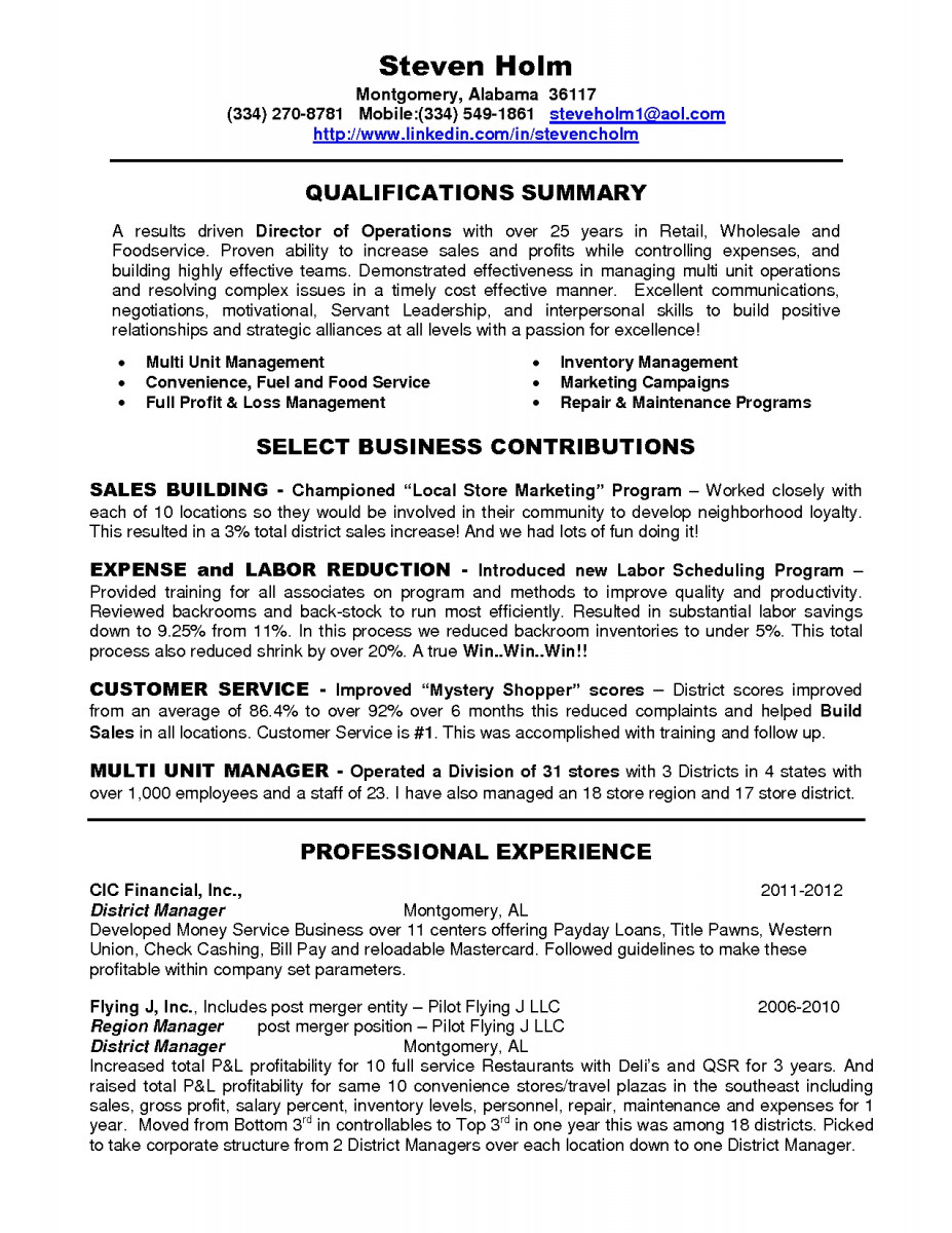district manager resume examples example aml administrative assistant cover letter retail Resume District Manager Resume Examples