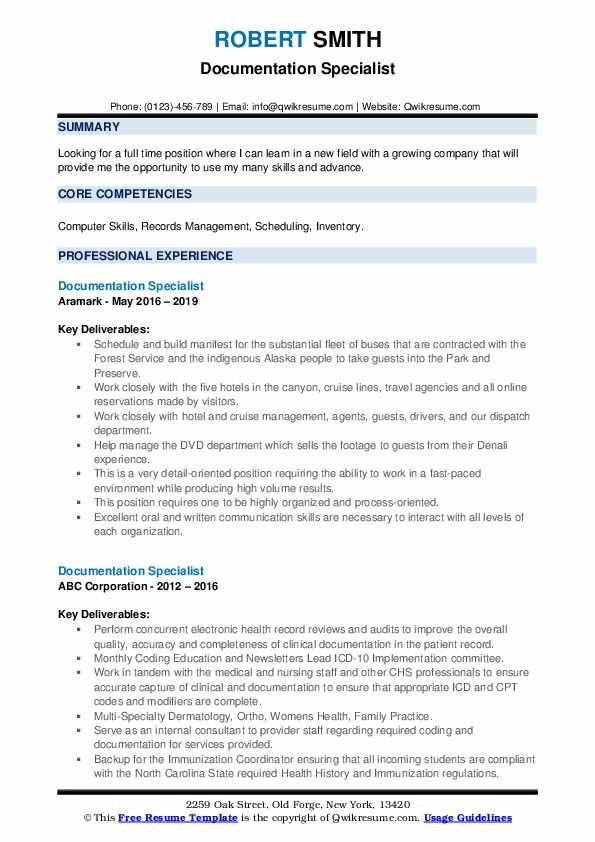 documentation specialist resume samples qwikresume image result for samp records Resume Document Specialist Resume Sample