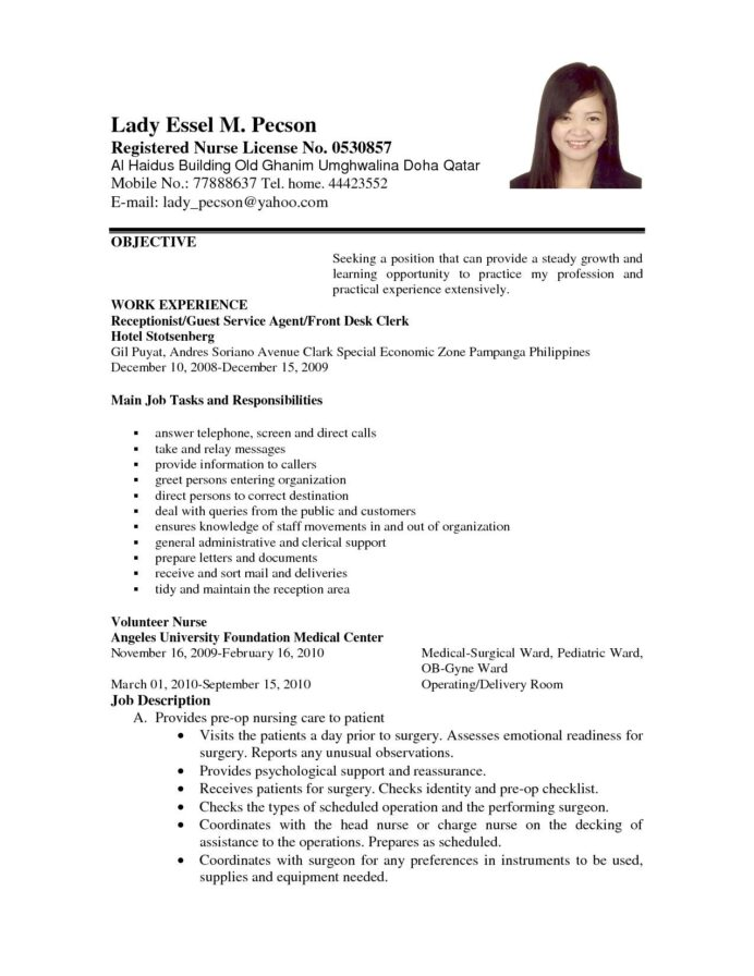 easy job application career objective in resume sample for any position script lead Resume Sample Objective For Resume For Any Position
