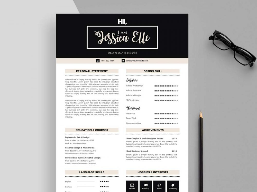 editable cv templates free resumekraft attractive resume 1000x750 equity trader examples Resume Attractive Resume Templates Free Download