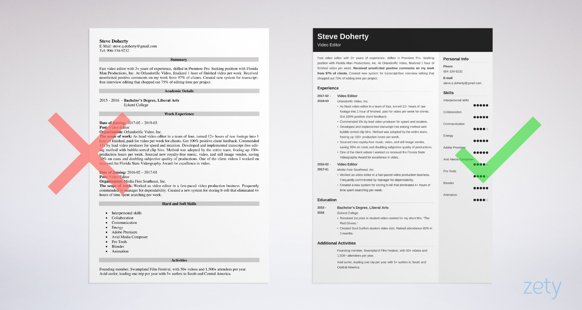 editor resume example template guide sample for editing job the most professional career Resume Sample Resume For Editing Job