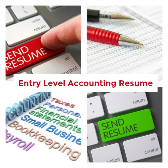 entry level accounting resume sample summary examples entrylevelaccountingresumecollage Resume Resume Summary Examples Entry Level Accounting