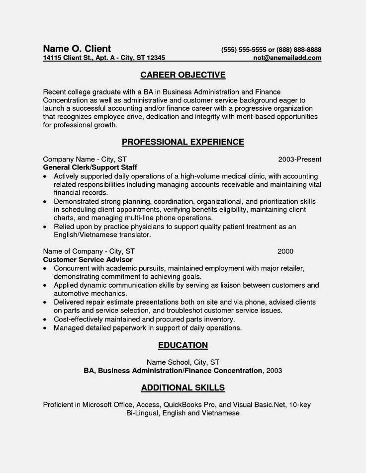 entry level accounting sample resume objectives template cover letter objective examples Resume Examples Of Resume Objectives Entry Level