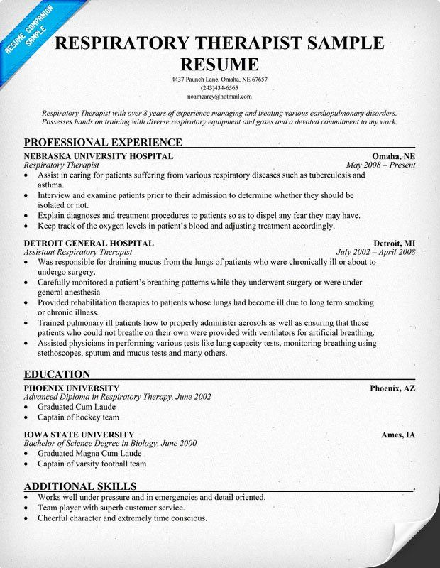 entry level massage therapist resume fresh essay on technology tools to help ph and Resume Registered Respiratory Therapist Resume