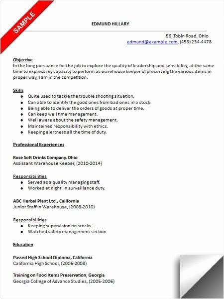 entry level warehouse resume elegant best images about examples on job samples good Resume Entry Level Warehouse Resume Objective