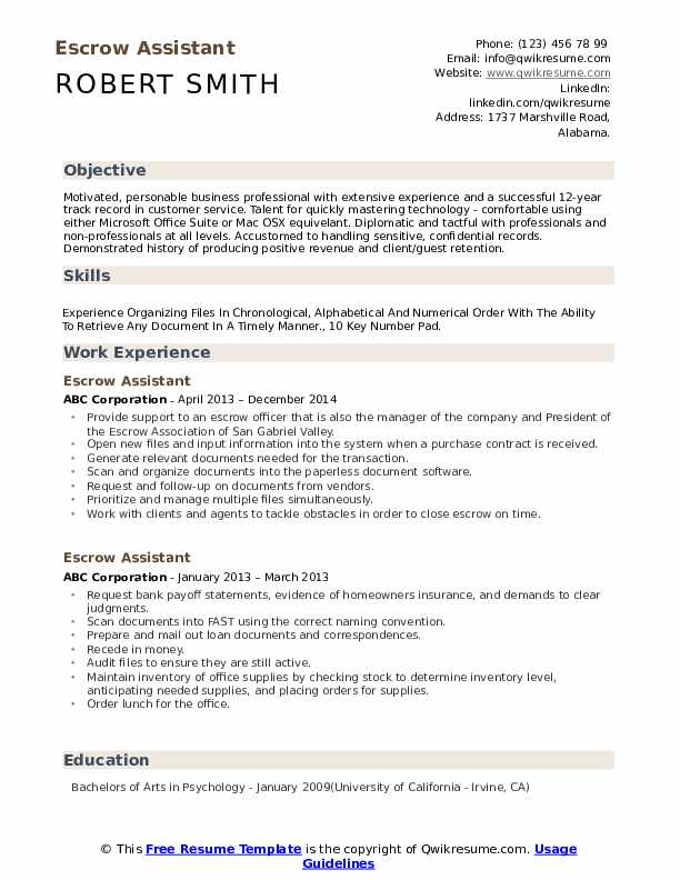 escrow assistant resume samples qwikresume allied health pdf skills can put on policy Resume Allied Health Assistant Resume