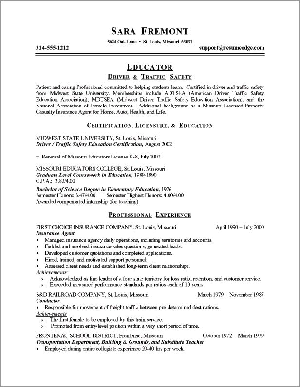 essay service dailymotion career transition teacher resume examples teaching template Resume Resume Objective Transition Career