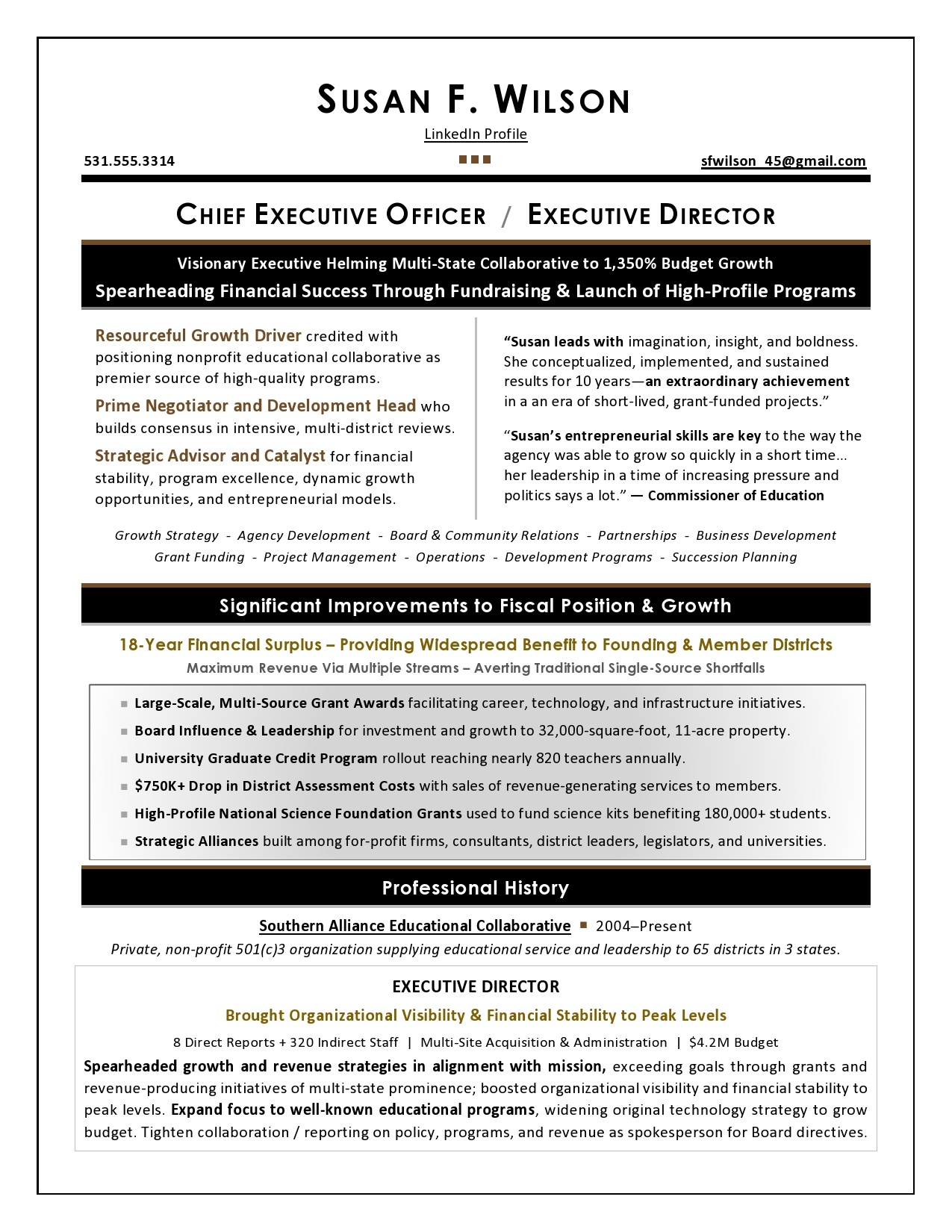 executive resume writing services top writers sample for award nomination nonprofit Resume Sample Resume For Award Nomination
