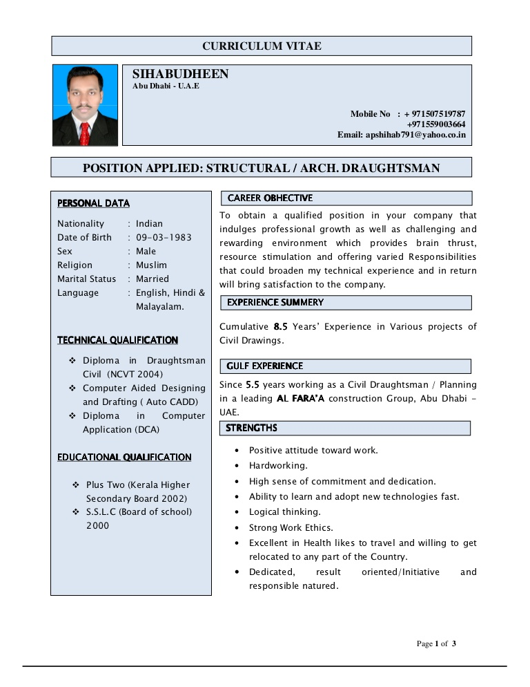 experienced mechanical engineer resume hvac for curriculumvitae phpapp02 thumbnail film Resume Hvac Engineer Resume For Gulf