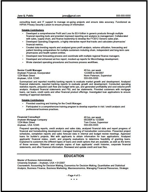 federal financial analyst resume sample the clinic analysis skills pg4 for substance Resume Financial Analysis Skills Resume