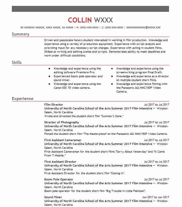 film director resume example resumes misc livecareer independent producer evaluation Resume Independent Film Producer Resume
