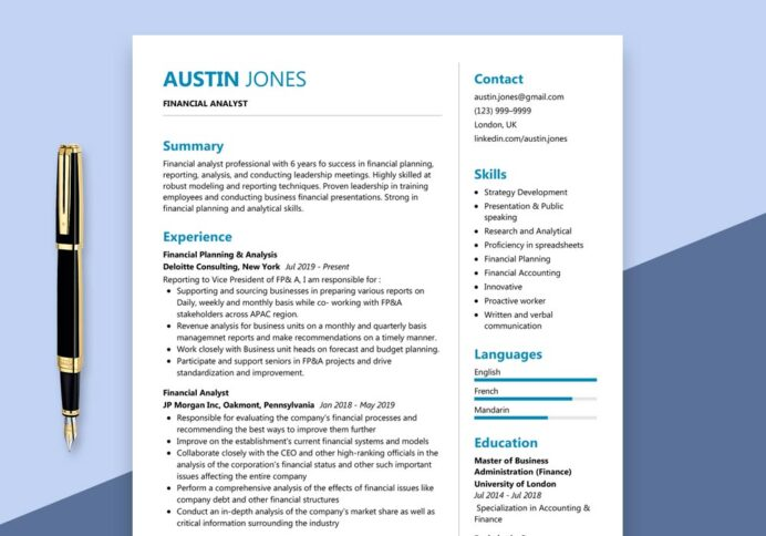 financial analyst resume sample maxresumes planning and analysis summary for visa Resume Financial Planning And Analysis Resume Summary
