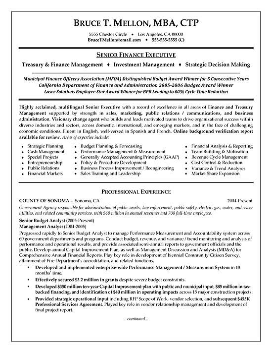 financial manager resume example finance executive summary exfi20a human resources Resume Finance Executive Resume Summary