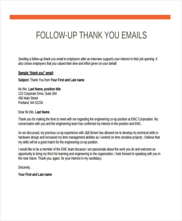 follow up emails after interview thank you email job letter resume techno functional Resume Resume Follow Up Letter After Interview