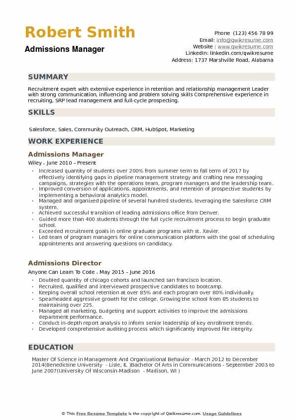 for applicant resume sample format university admission runway model catchy titles Resume Resume Format For University Admission