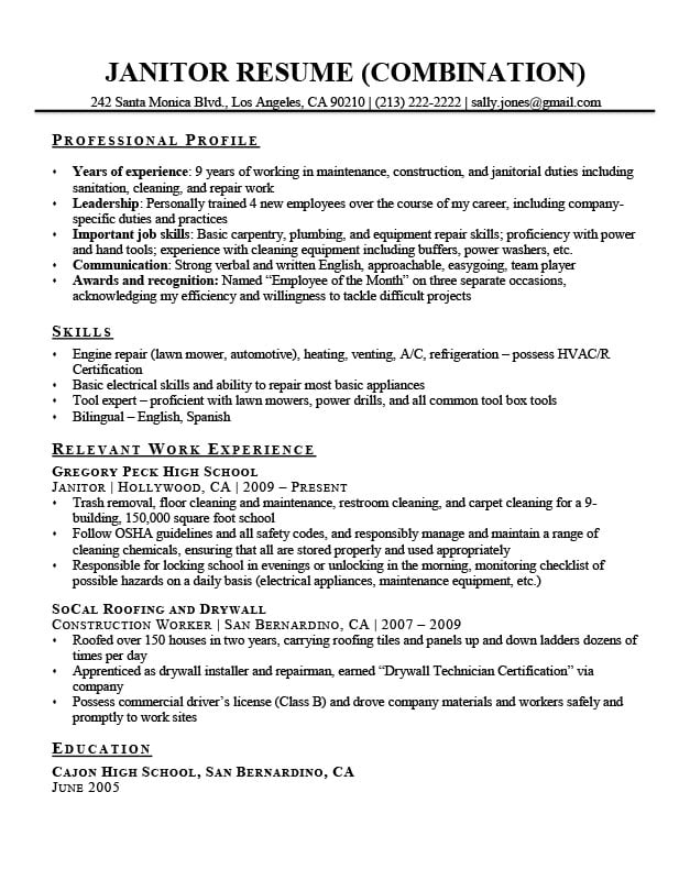 for janitor resume examples format drywall driller example warehouse material handler Resume Drywall Resume Examples