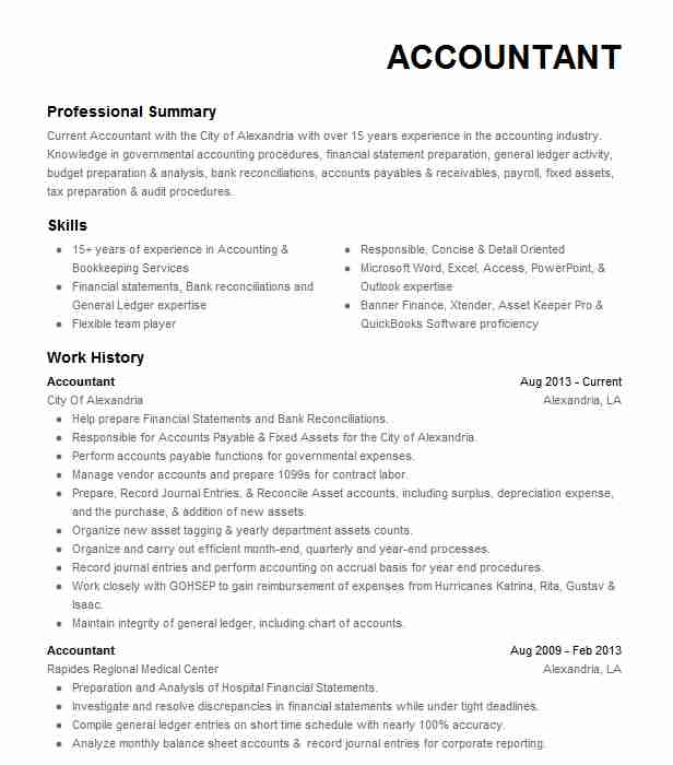 for resume samples accounting format experience accountant assistant microsoft word blank Resume Experience Resume Format For Accountant
