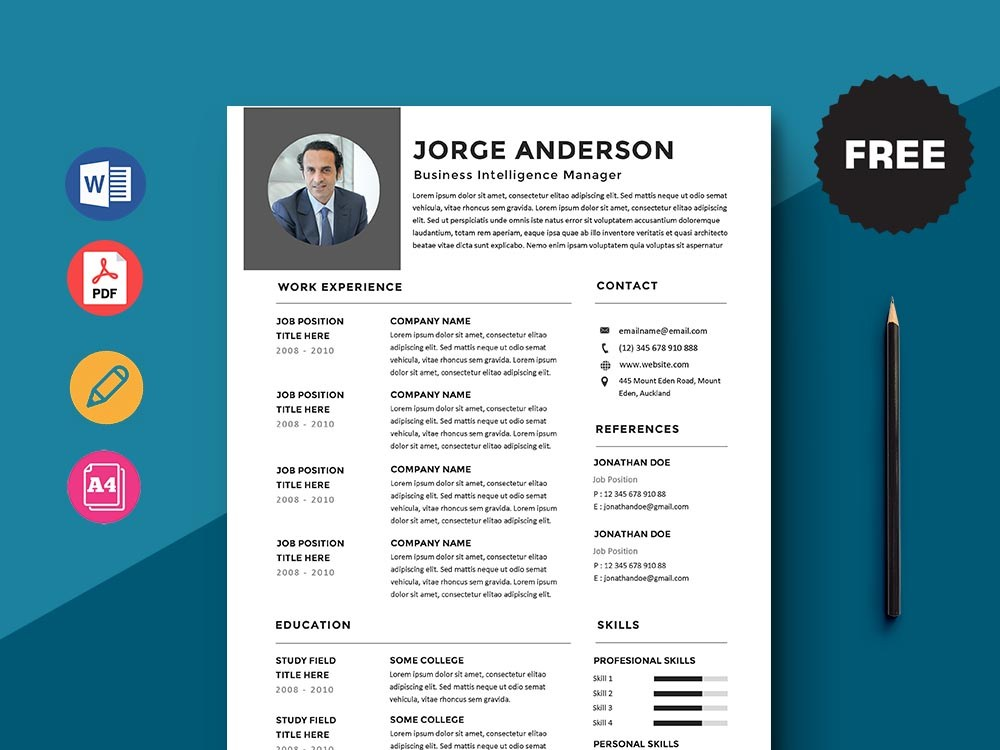 free business intelligence manager resume template with simple look sample of for job Resume Business Intelligence Manager Resume