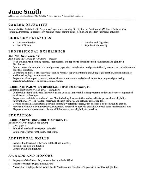 free classic resume templates in microsoft word format creativebooster template Resume Classic Resume Template