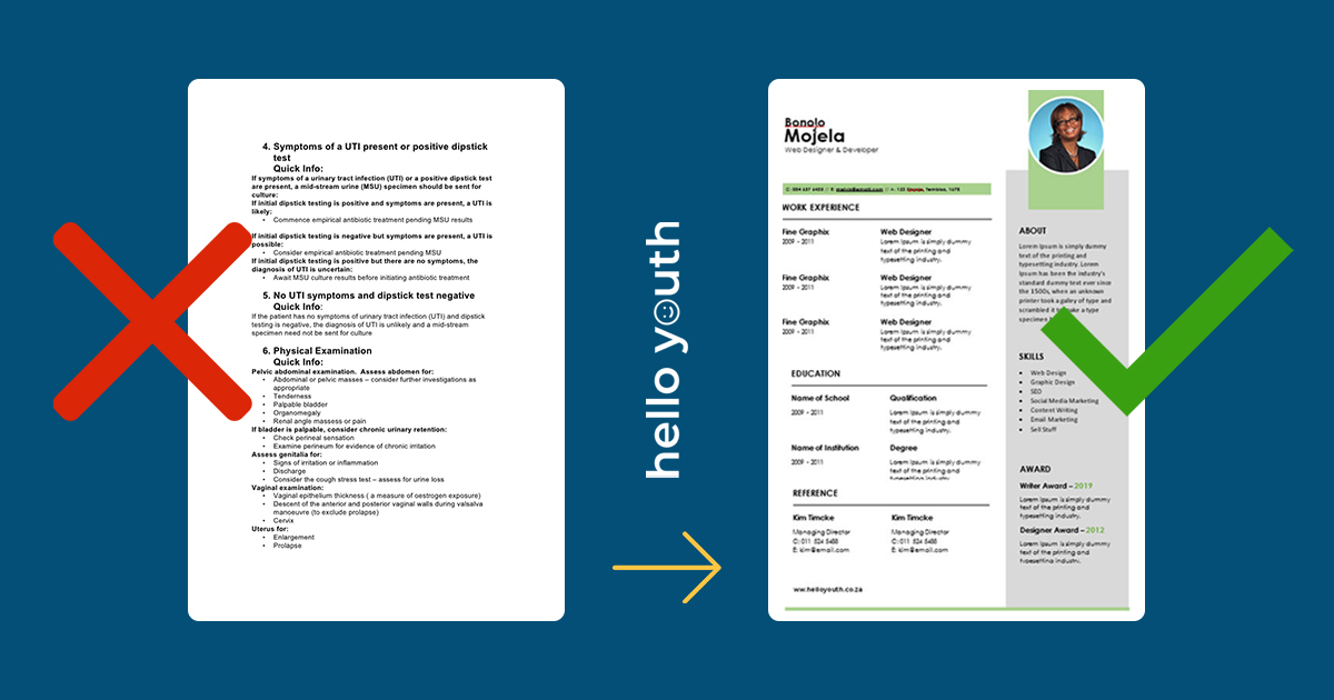 free cv templates for word the ultimate collection hello youth resume revamp account Resume Resume Templates For Word 2020