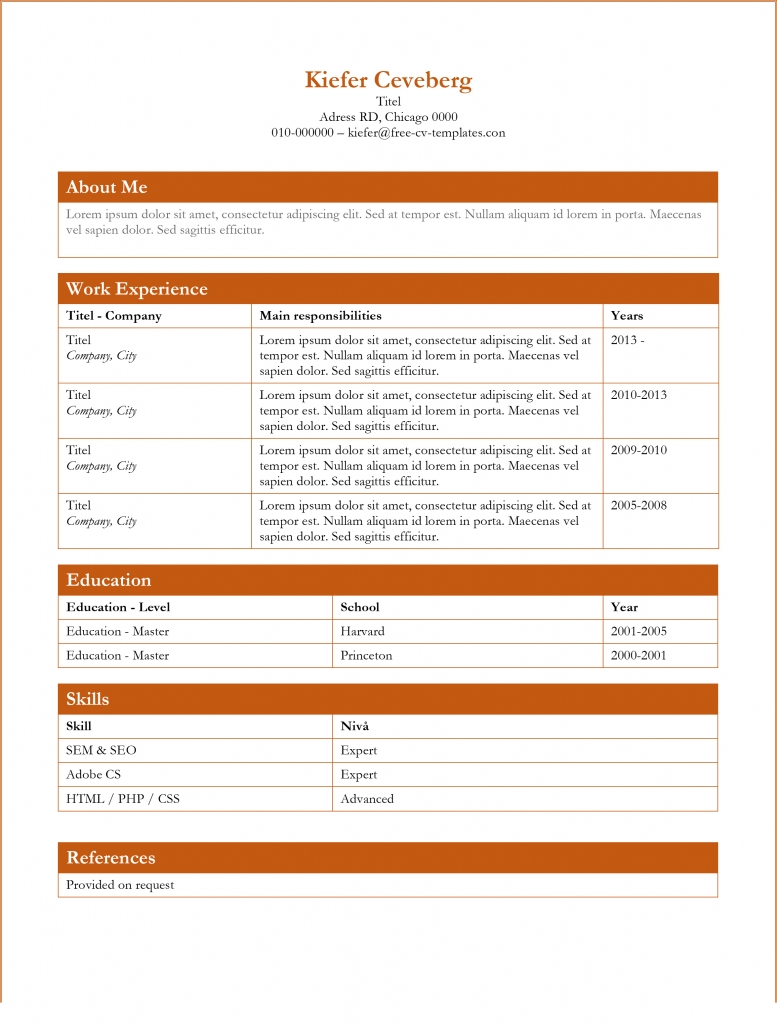 free dynamic cv templates land the job with our word resume boxes 777x1024 careerbuilder Resume Free Dynamic Resume Templates