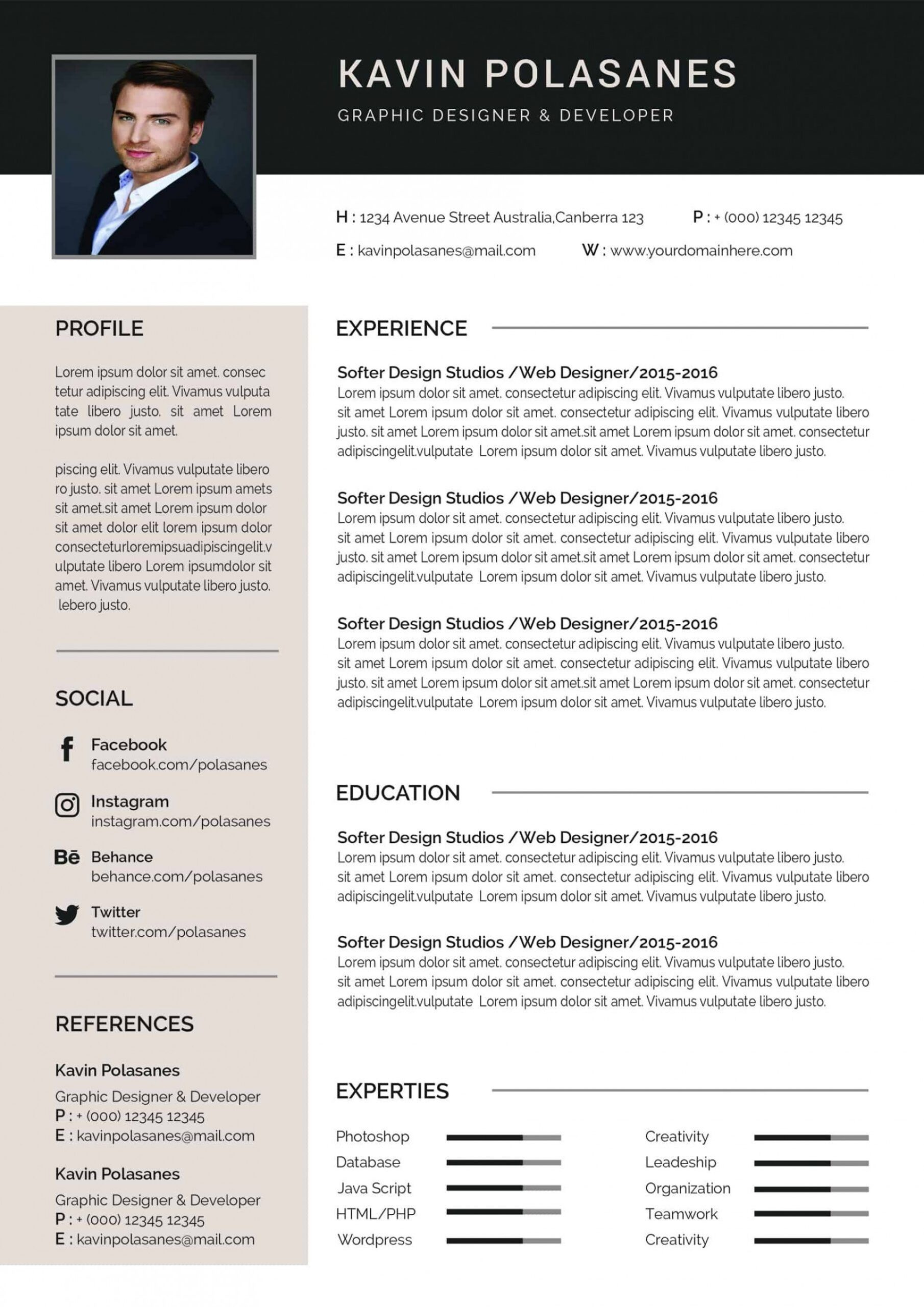 free editable resume templates examples for high school students with experience Resume Core Functional Resume Template Word