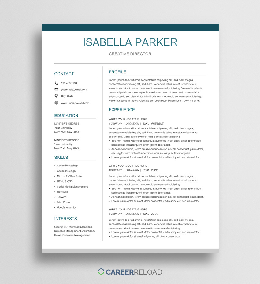 free google docs resume template career reload can you create on harvard business school Resume Can You Create A Resume On Google Docs