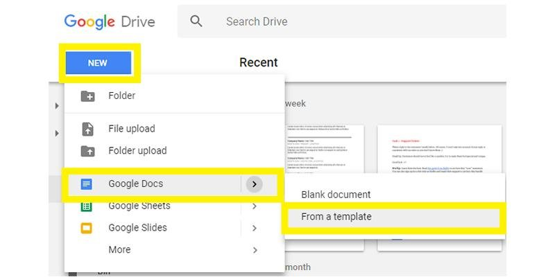 free google docs resume templates drive alternatives can you create on odi developer Resume Can You Create A Resume On Google Docs