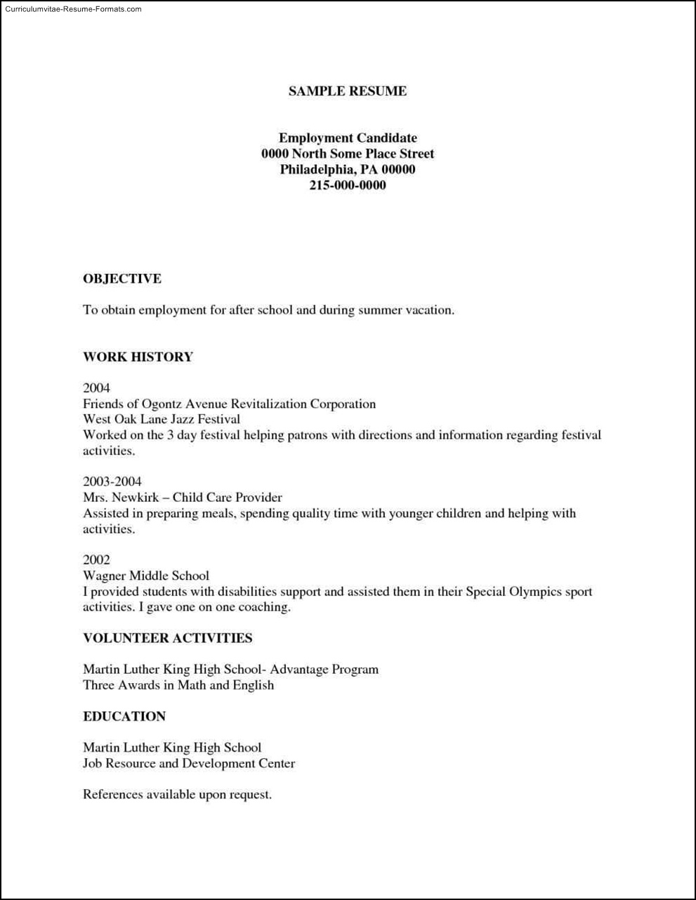 free printable resume templates ipasphoto basic examples inspirational resumes samples Resume Printable Basic Resume Examples