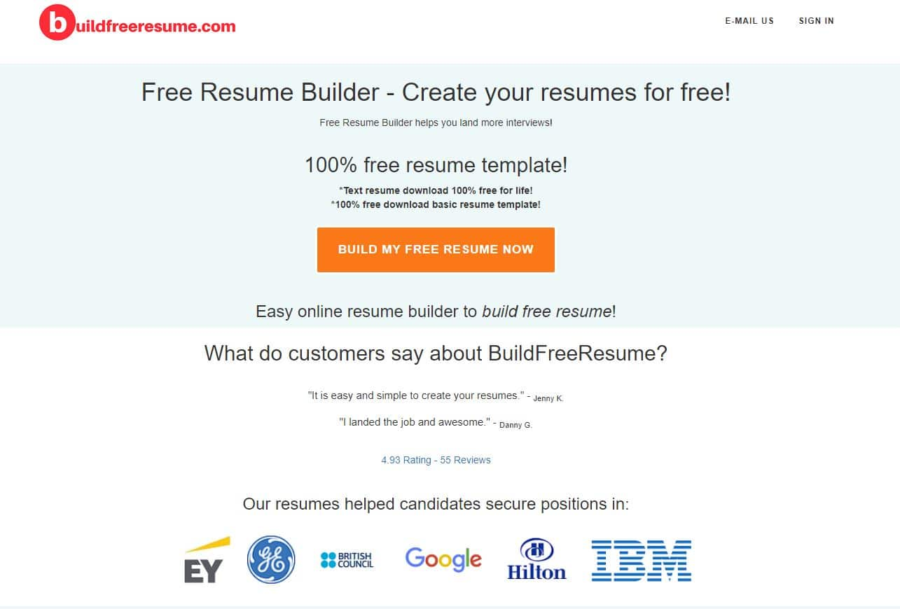 free resume builder for build and second job examples legal samples skills qualifications Resume Free Resume Builder And Download