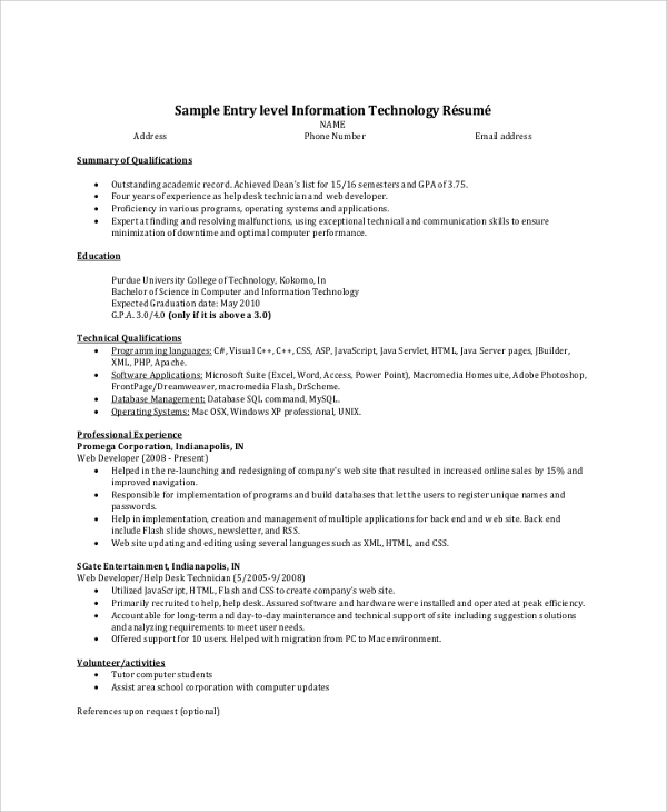 free resume summary samples in pdf ms word beginner examples example entry level Resume Beginner Resume Summary Examples