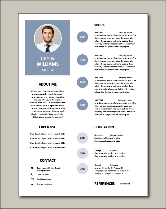 free resume templates examples samples cv format builder job application skills most used Resume Most Used Resume Format