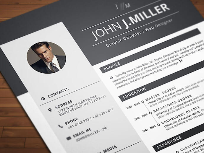 free resume templates for microsoft word to make your own attractive neat and confident Resume Attractive Resume Templates Free Download