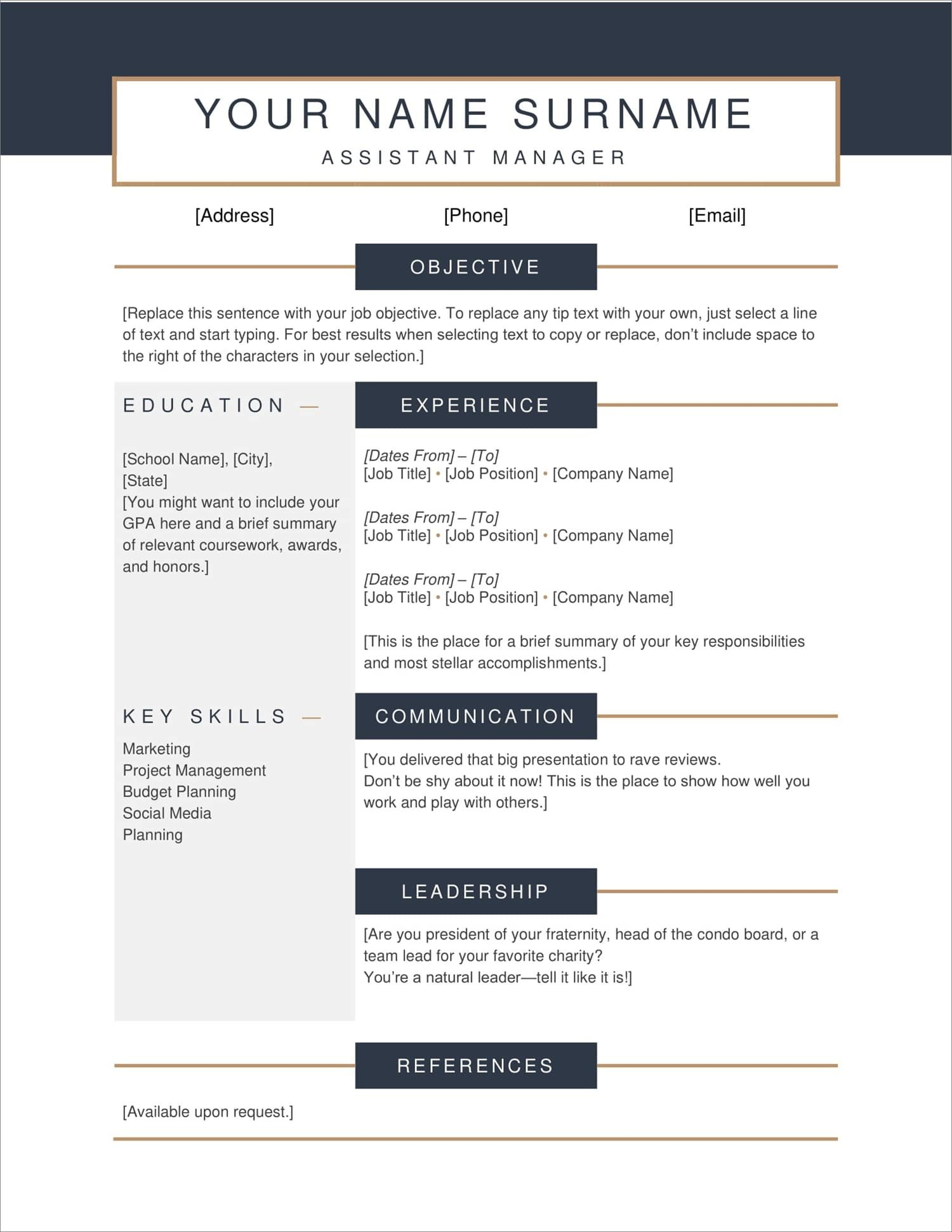 free resume templates for to now layout examples new production experience sample strong Resume Free Resume Layout Examples