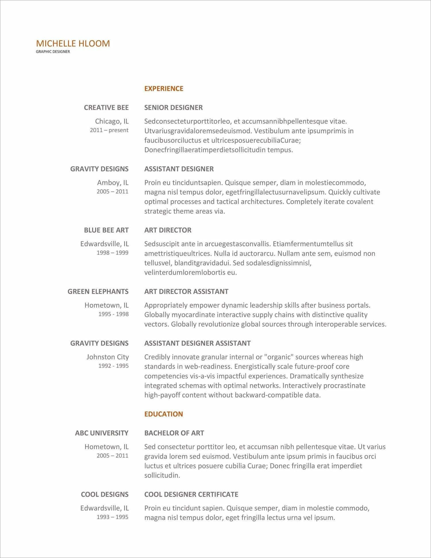 free resume templates for to now layout examples new strong action words fund accountant Resume Free Resume Layout Examples