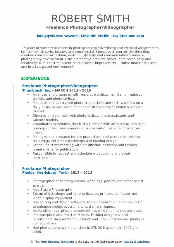 freelance photographer resume samples qwikresume pdf college athlete example for research Resume Freelance Photographer Resume