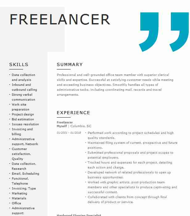 freelancer software engineer resume example itworx cairo new bot hub army acap Resume Resume Bot Freelancer Hub