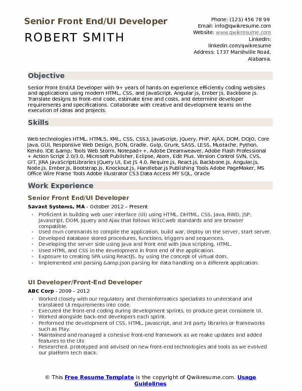 front end ui developer resume samples qwikresume angular experience pdf federal Resume Angular Experience Resume