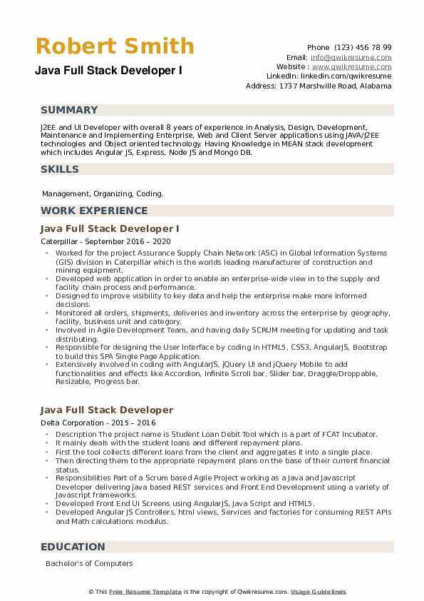 full stack developer resume samples qwikresume angularjs sample pdf management internship Resume Angularjs 2 Resume Sample