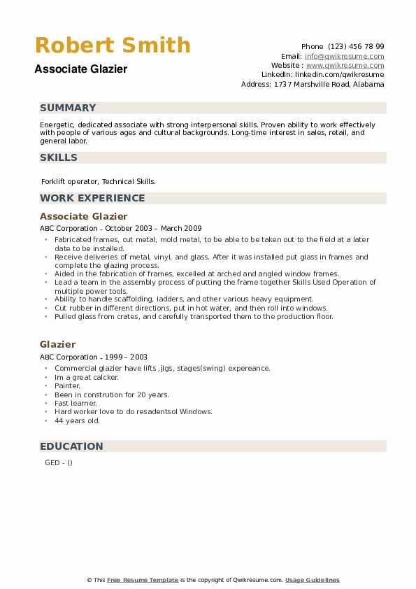 glazier resume samples qwikresume examples pdf sample dietitian templates microsoft word Resume Glazier Resume Examples
