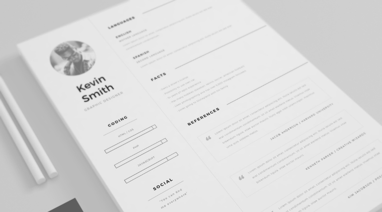 gorgeous minimalist resume templates the genius sample template security guard objective Resume Minimalist Resume Sample