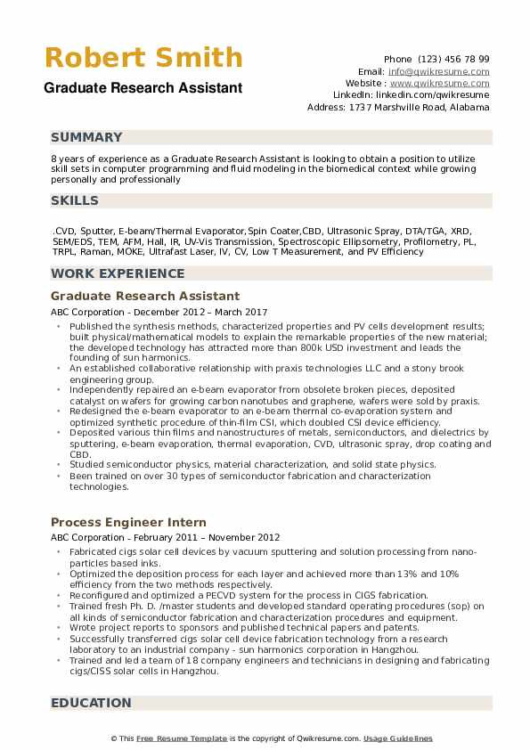 graduate research assistant resume samples qwikresume examples pdf composer template Resume Research Resume Examples