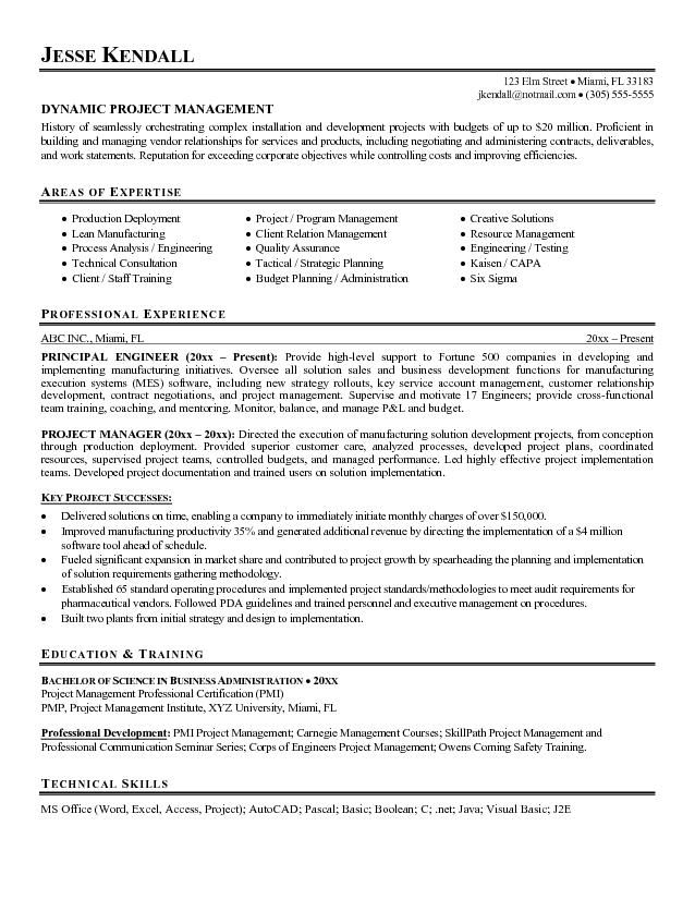 guerrilla resume profile examples google search project manager objective statement for Resume Resume Objective Examples For Management